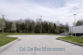 Cul-de-Sac Monument