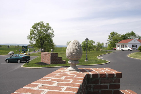 Pinecone Monument