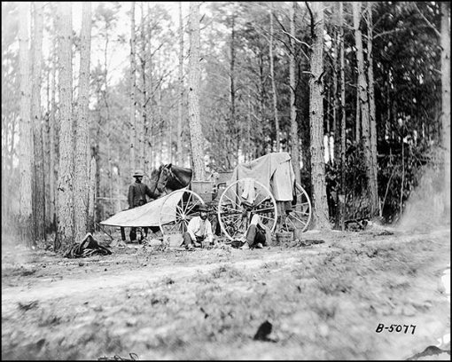 Mathew Brady Photographic Crew Near Petersburg, VA (1864)