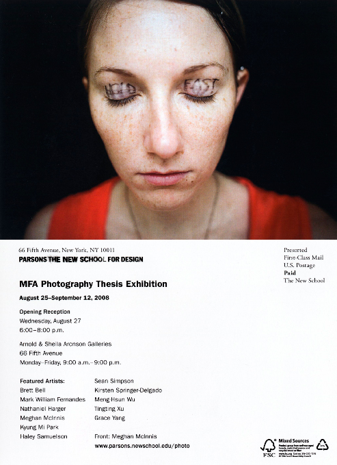 Parsons MFA Photography Thesis Exhibition