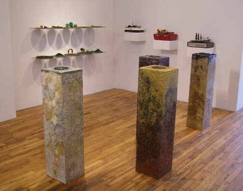 Playing God (Installation View) by Kim Holleman