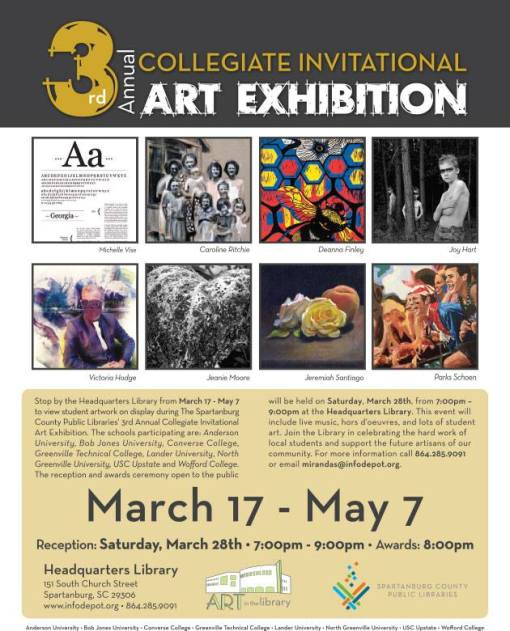 3rd Annual Collegiate Invitational Art Exhibition