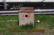 Lockbox Monument