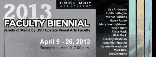 USC Upstate Faculty Biennial