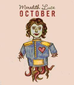 Cover of Meredith Luce's October Album (2007)