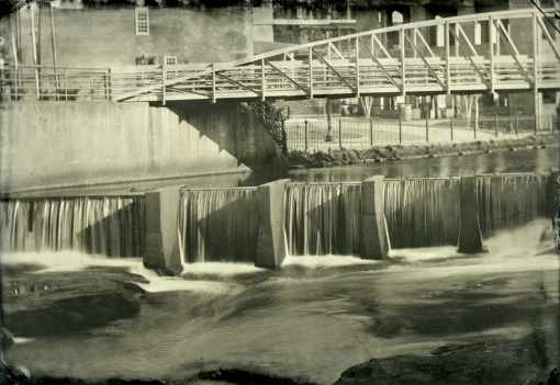 Tintype, Reedy River Crossing for Exhibition at The Herring Center for Continuing Education, Furman University.