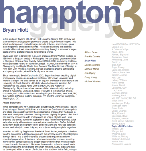 Bryan Hiott - Hampton III