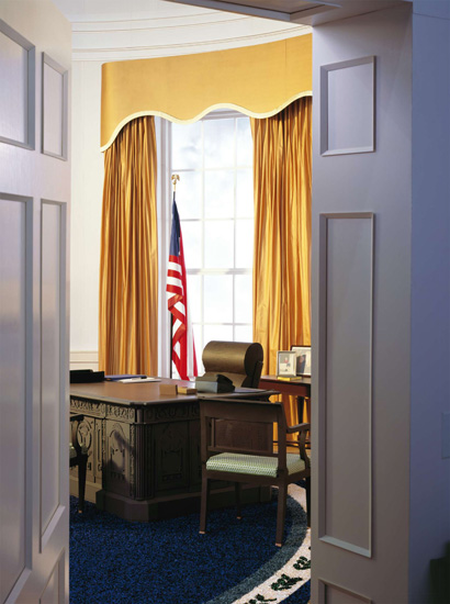 Oval Office by Thomas Struth