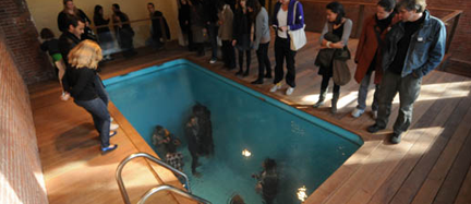 Swimming Pool by Leandro Erlich.  Photo: Matthew Septimus.