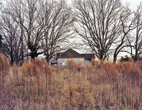 Abandoned House Near Piedmont, SC.  Image:  Bryan Hiott.