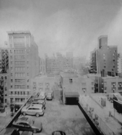 Pinhole Photograph (View of Manhattan)