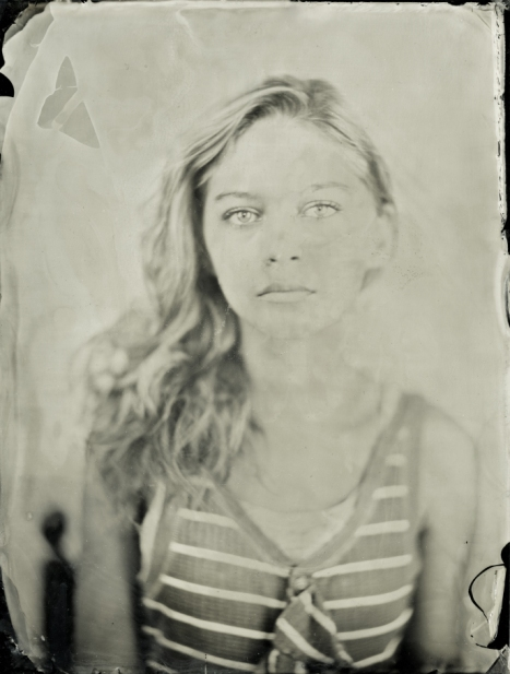 Portrait of Isobelle - Ambrotype