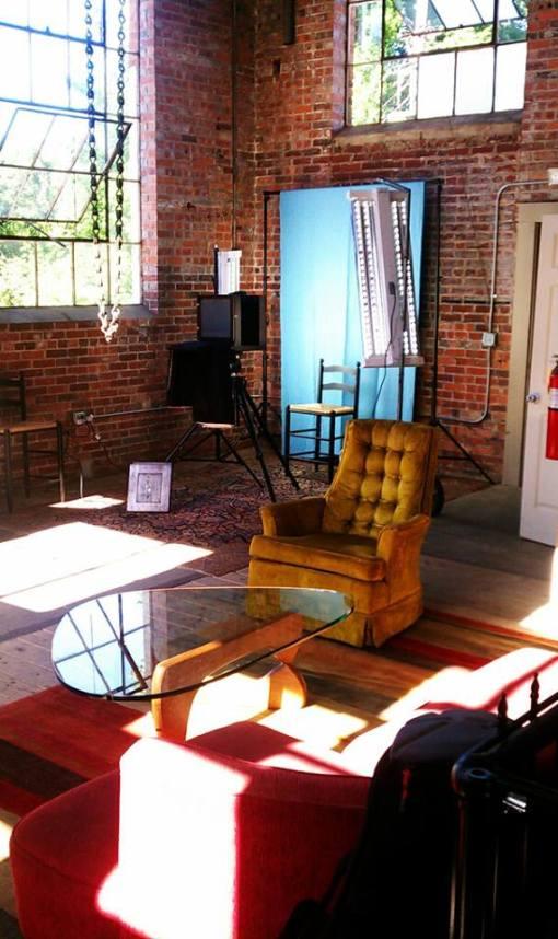 Interior of the Studio