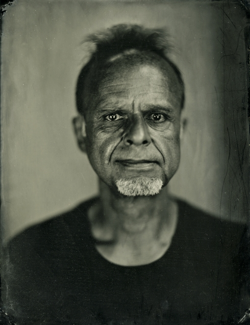 Portrait of Manuel - Tintype