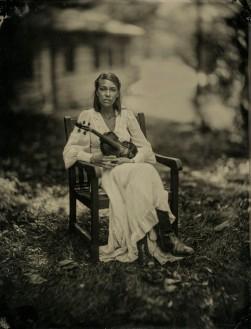 Julie - Tintype