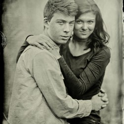 Jamie and Anna - Tintype