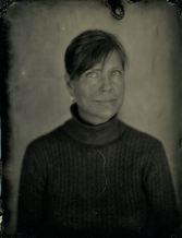 "Paula Greenway - Tintype (6.5"" x 8.5"")"